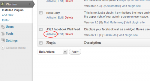Activate the plugin through the 'Plugins' menu in WordPress.